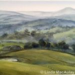 Plein air painting of nillumbik and Yarra Ranges