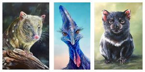 Australian wildlife paintings by Linda MacAulay Artist