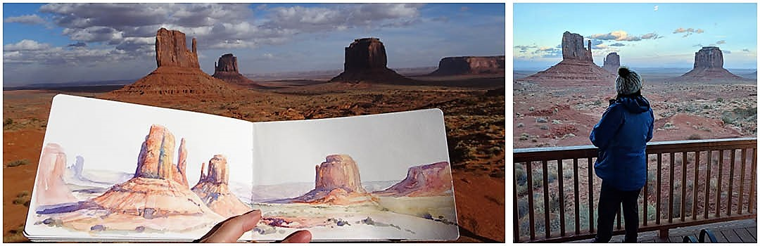 American Southwest in watercolour by Linda MacAulay