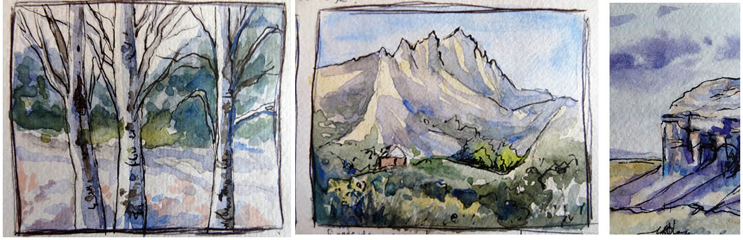 ArtIsts travel diary from Utah