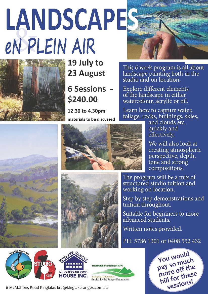 Landscape Painting workshops with Linda macAulay in watercolour